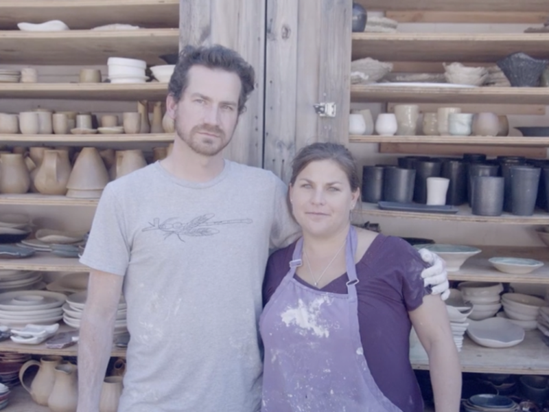 William Callnan III and Nikki Ballere Callnan, Ceramicists