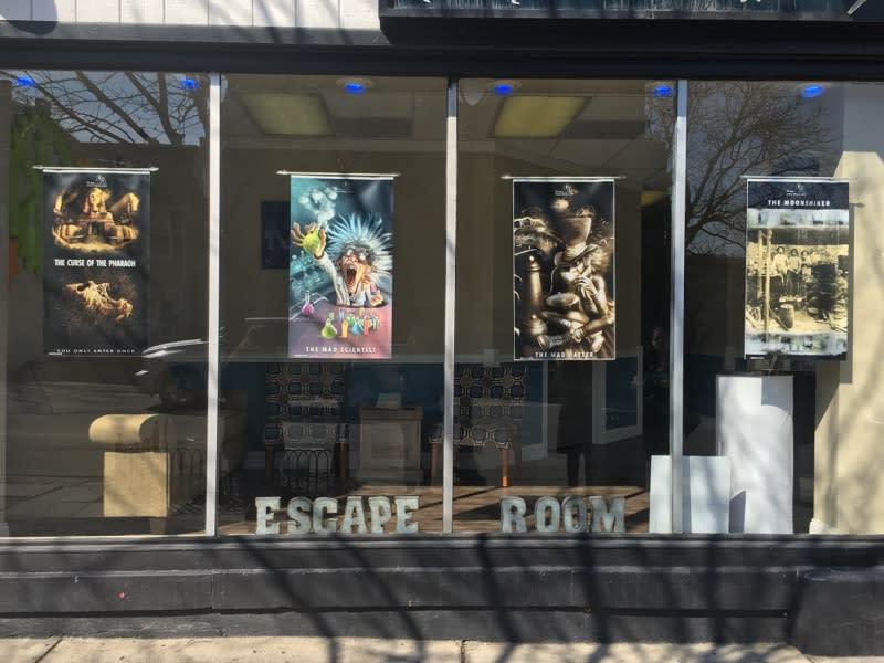 Klues Escape Room in the Pocono Mountains