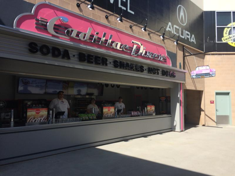 Cadillac Diner at Raley Field
