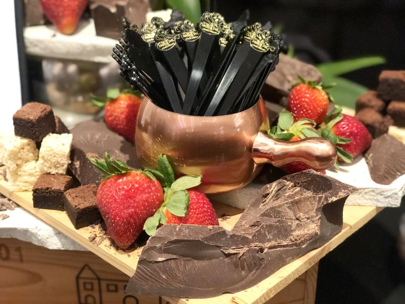 Chocolate and Strawberries from Melting Pot