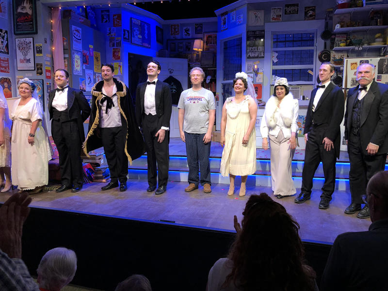 Bristol Valley Theater - Drowsy Chaperone cast