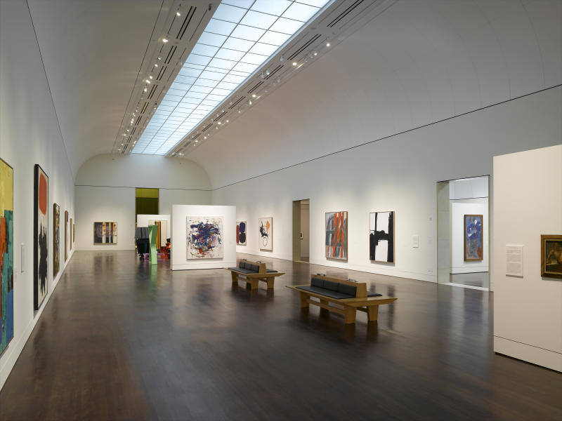 Modern and Contemporary Galleries at the Blanton Museum
