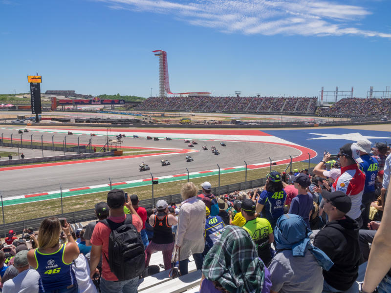 MotoGP at COTA in austin texas
