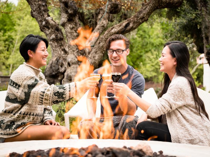 Cabernet Season- Friends Around the Fire