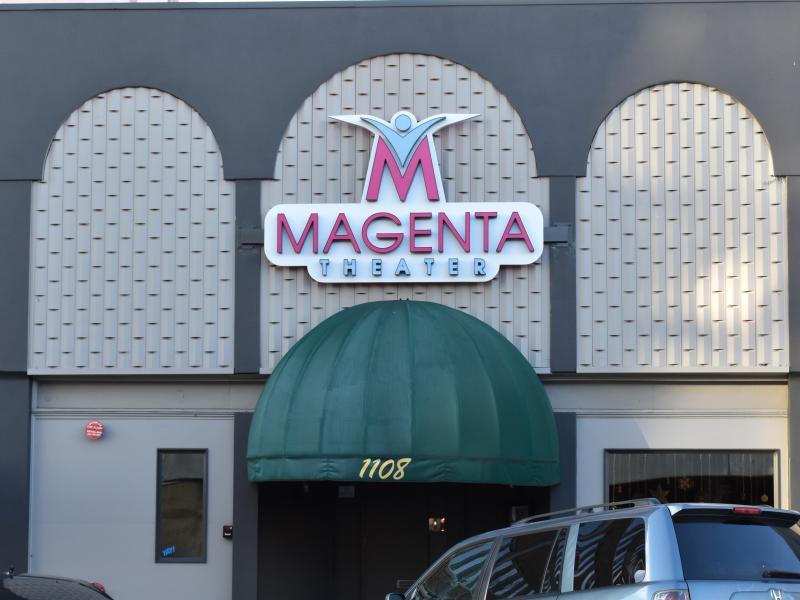 magenta theatre exterior