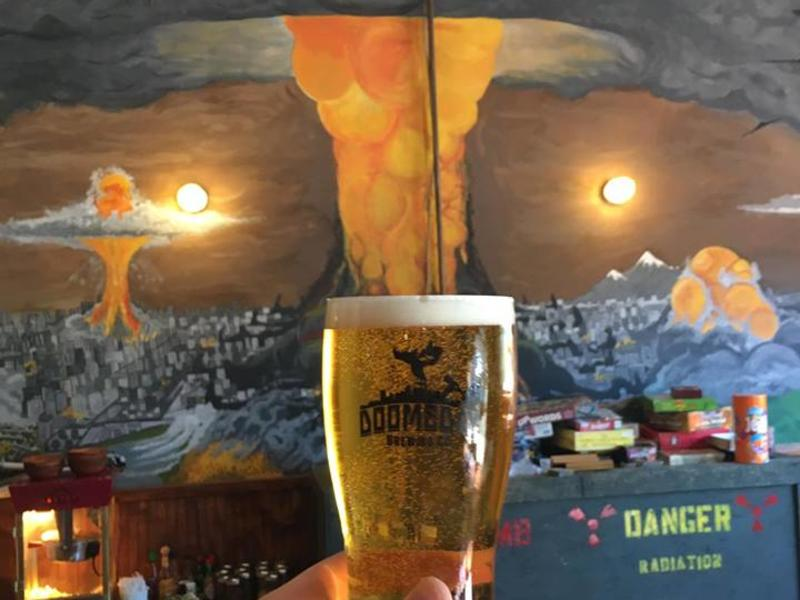doomsday beer and wall