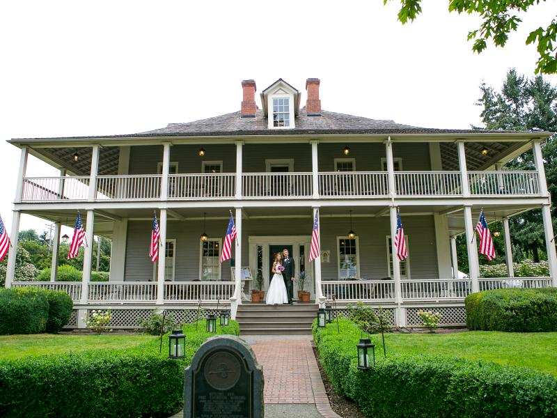 The Grant House Wedding Ceremony