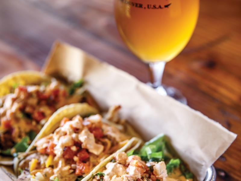 heathen beer and tacos