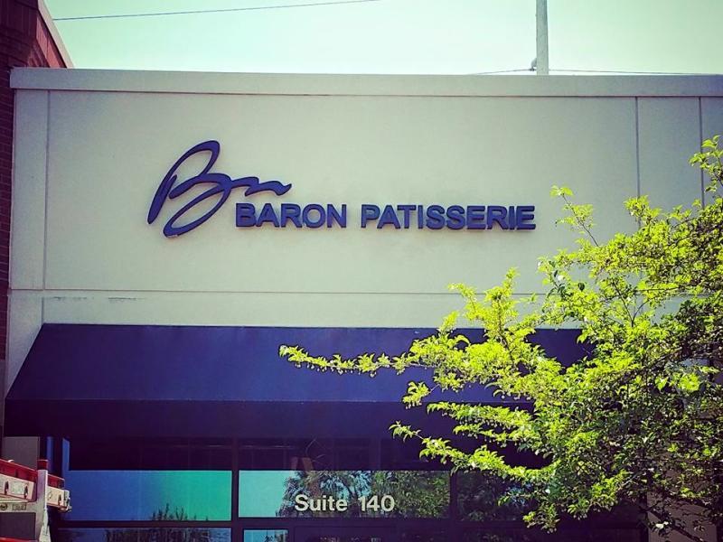 Baron Patisserie building
