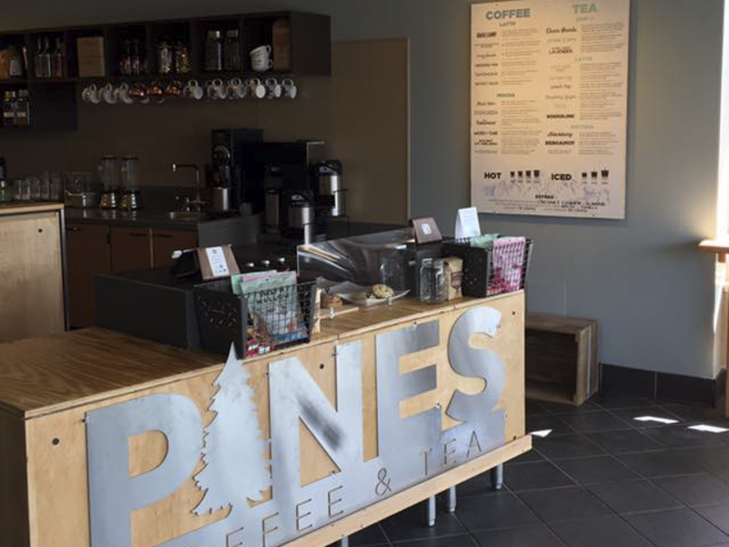 Pines coffee interior