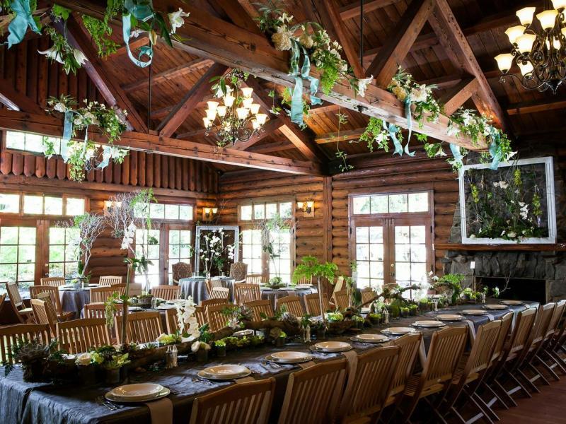 Summit Grove Lodge Interior