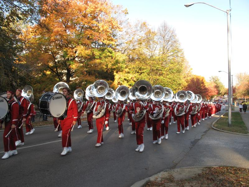 iu homecoming parade