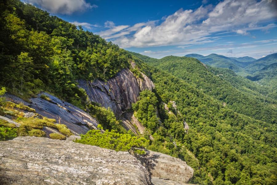 Skyline Trail at Chimney Rock State Park