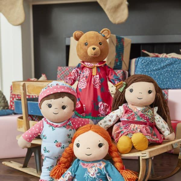 Christmas dolls from Matilda Jane in Fort Wayne, Indiana