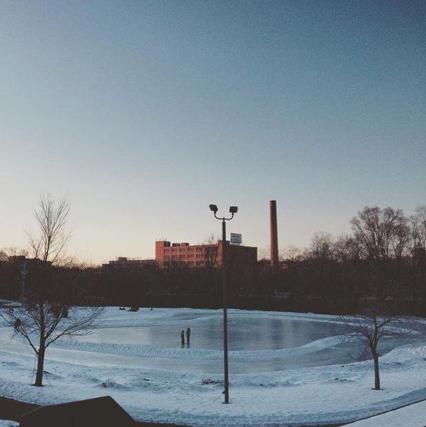 Boyd Park Skating rink