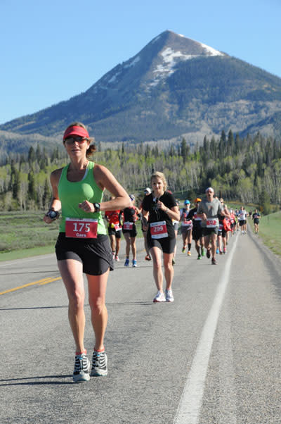 Cara Marrs Steamboat Marathon