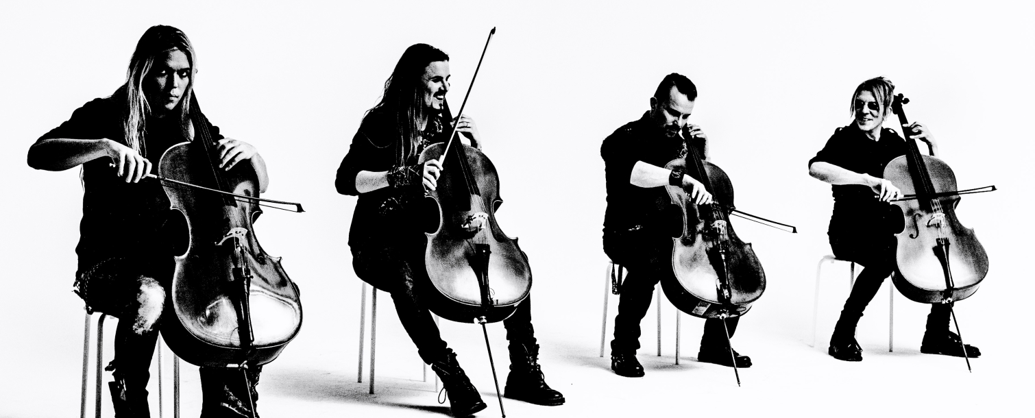 Apocalyptica - Plays Metallica By Four Cellos Tour