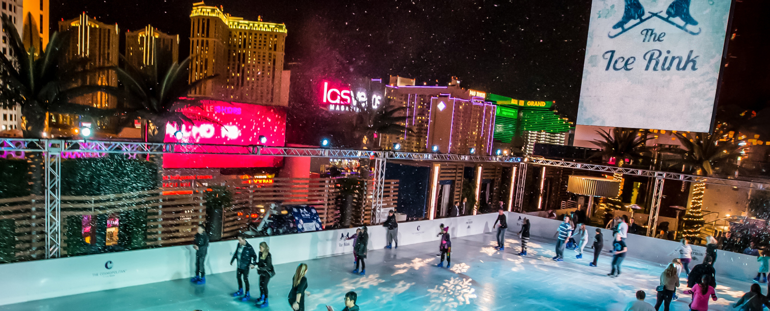 New Year's Eve at the Ice Rink