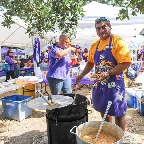 Cookin' up a delicious jambalaya!