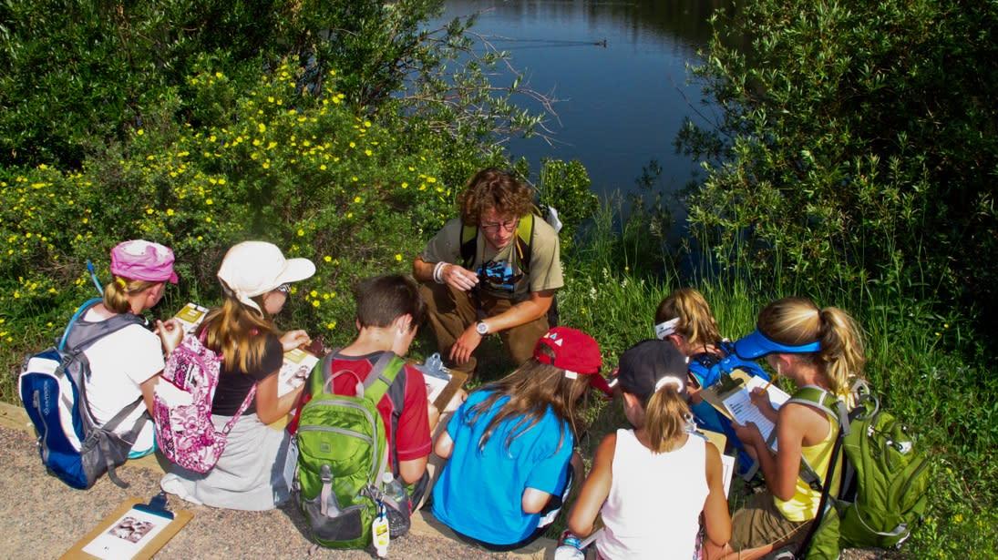 Hollowell Park Nature Hunt: A Virtual Geocache Adventure - Image