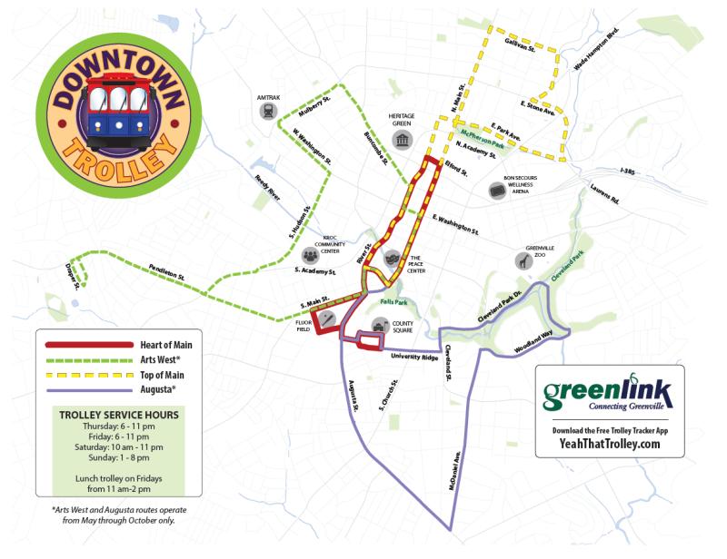 2019 Trolley Map