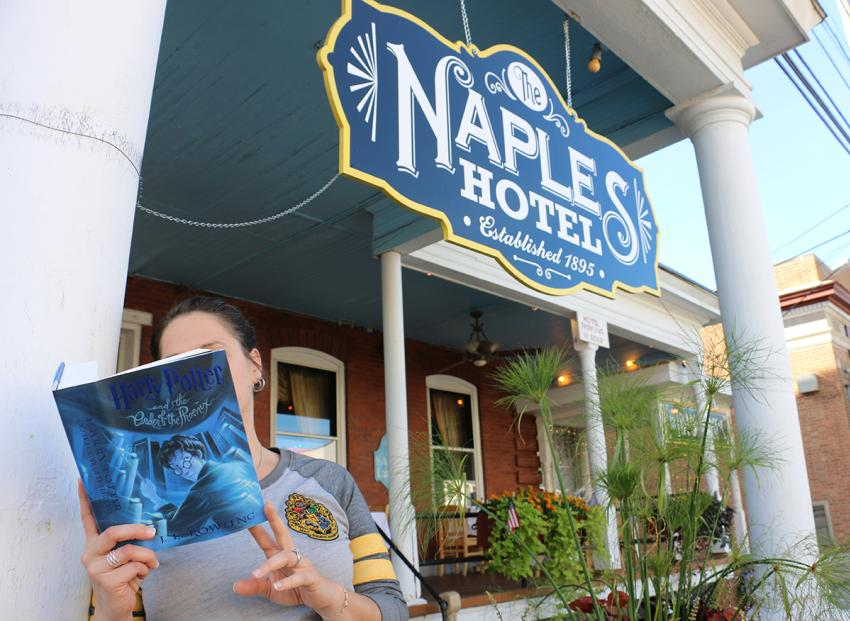 HP and the Order of the Phoenix at The Naples Hotel
