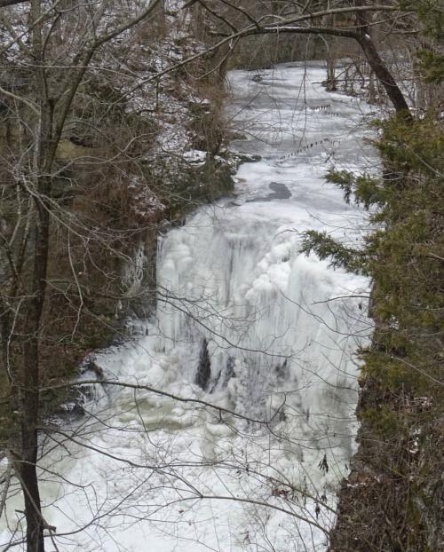 Hayden Falls Frozen