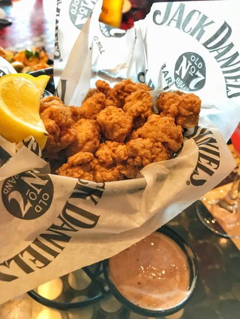 Fried Alligator at Jack Daniel's Bar & Grill | Lake Charles, LA