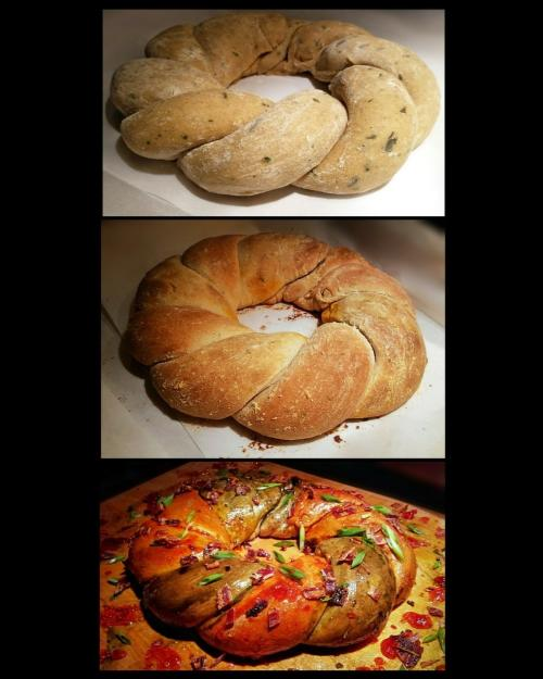 Boudin King Cake Recipe by Chef Derrill Guidry