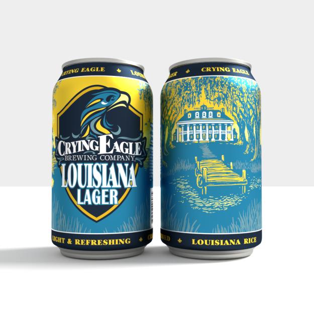 Louisiana Lager   Crying Eagle