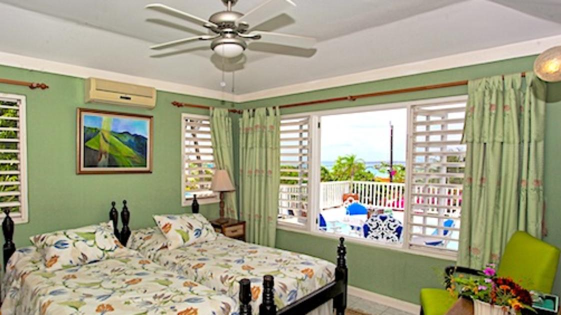 Bedrooms at Salt Ash Villa at Silver Sands