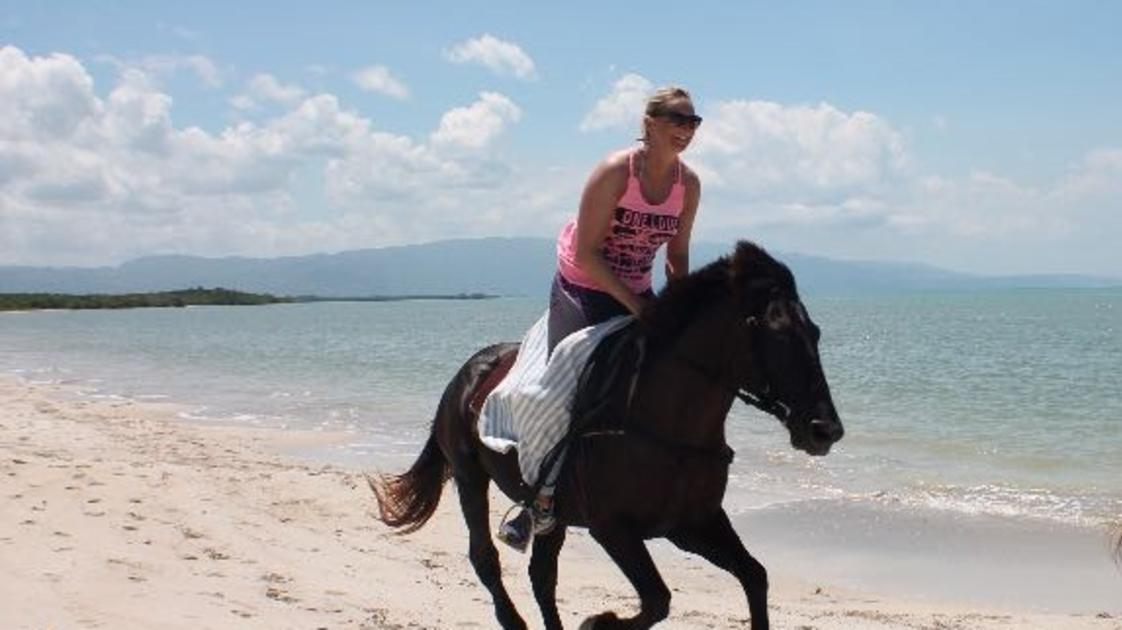 Reggae Horseback Riding at Wild Crocodile Adventure Park