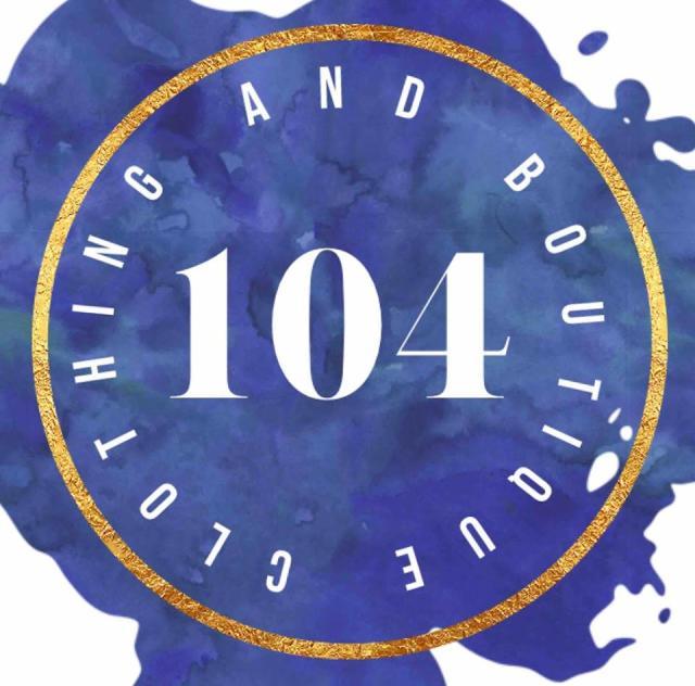 104 Clothing & Boutiwue Logo