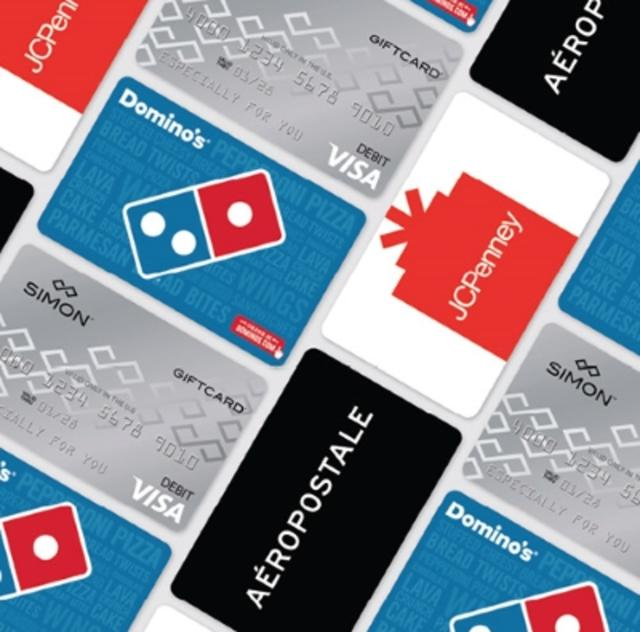 CPO Gift Card Deal (Dominos, Aeropostale, JC Penny)