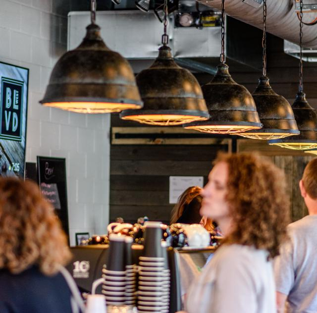 Boulevard West Coffee Line