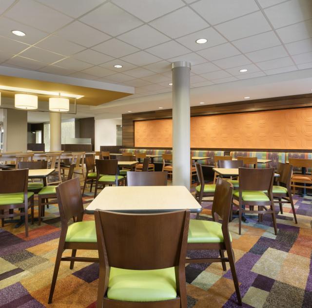 Fairfield Inn & Suites Breakfast Area