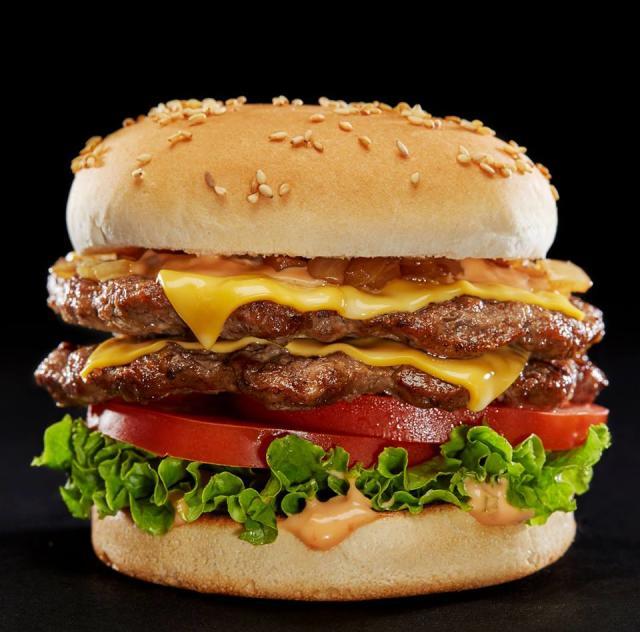Hardee's burger