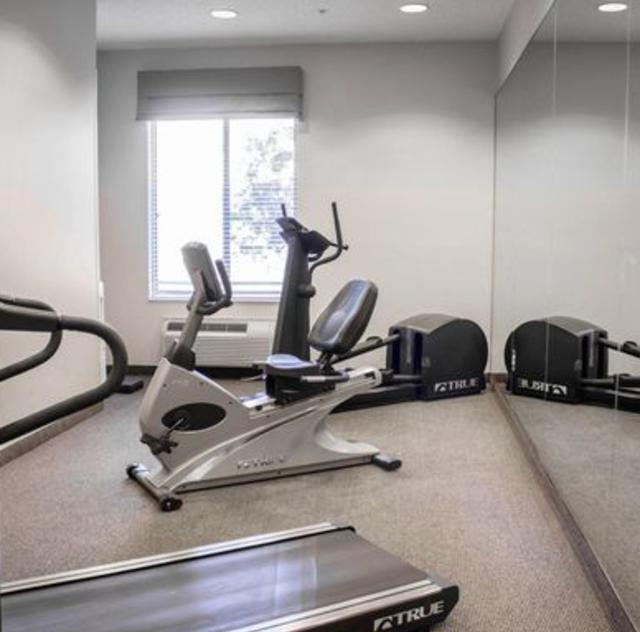 Sleep Inn Smithfield Fitness Room