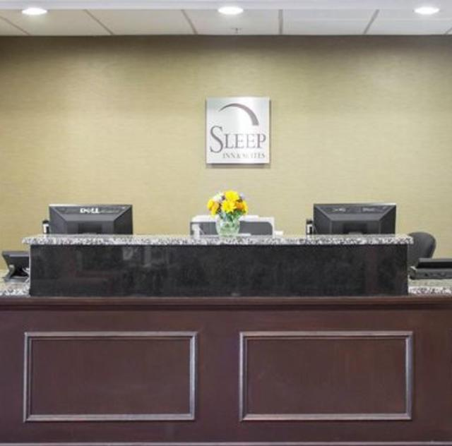 Sleep Inn Smithfield Front Desk