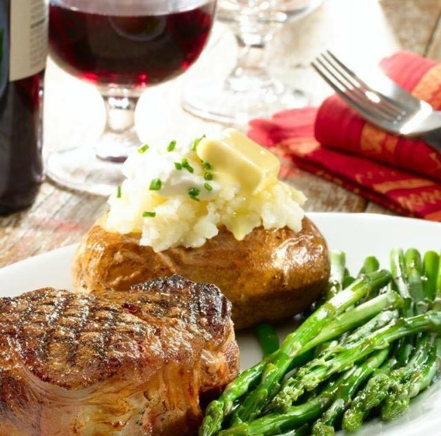 Texas Steakhouse Food