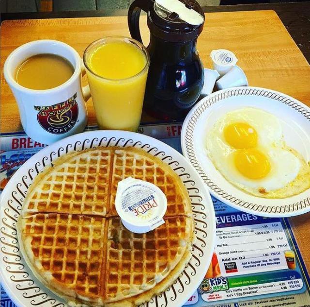 Waffle House Food