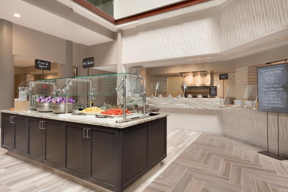 Embassy Suites Breakfast Buffet