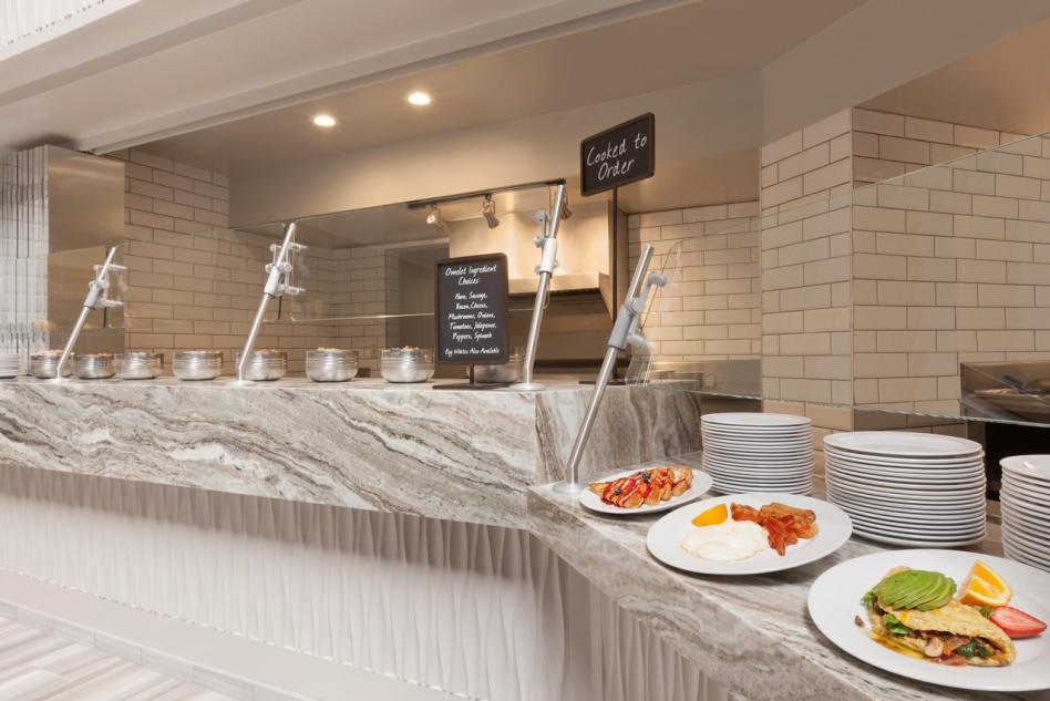 Embassy Suites Breakfast Buffet2