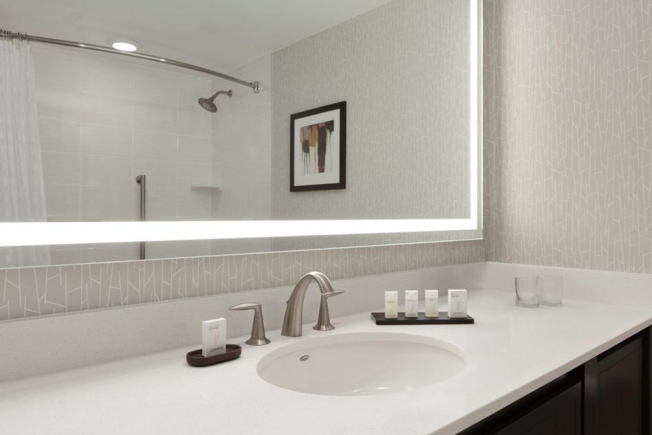 Embassy Suites guest bathroom