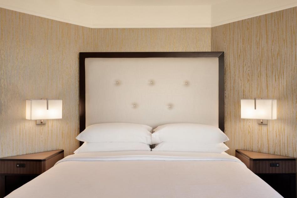 Embassy Suites King Suite bedroom