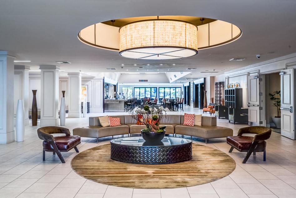 Hilton Irvine Lobby