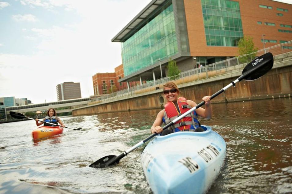 Kayaking the Grand