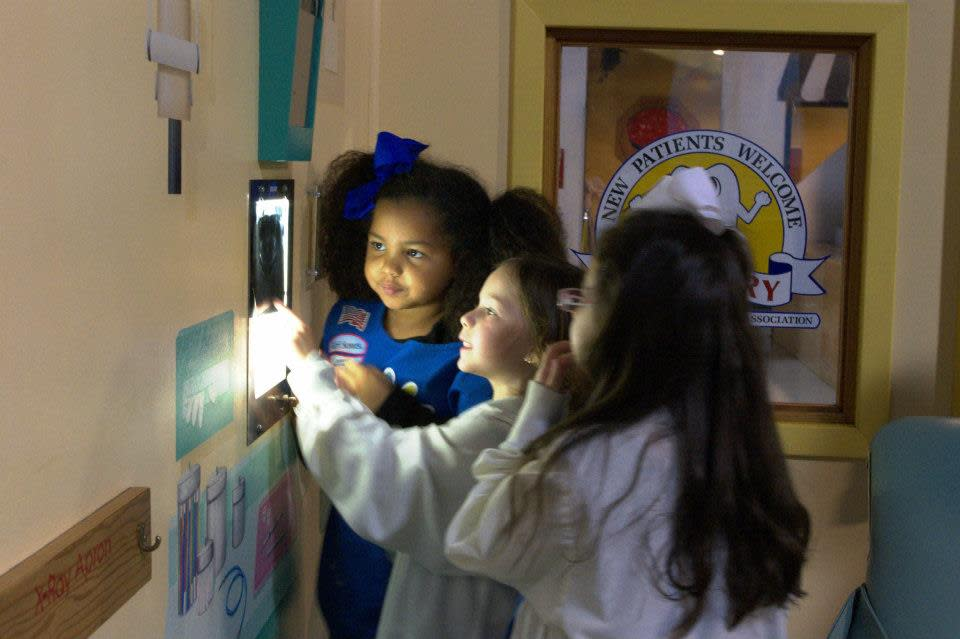 Kids learning at the Children's Museum of Acadiana