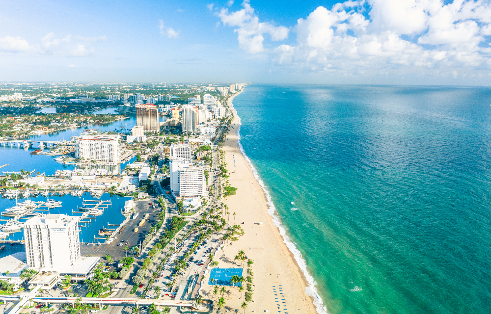 Fort Lauderdale Beach 1000x640