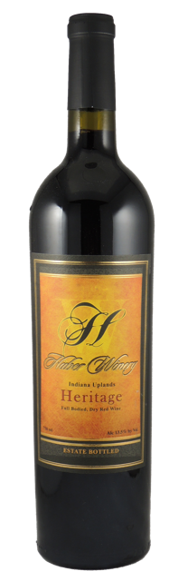 Huber's Heritage red blend wins Best of Show in 2017